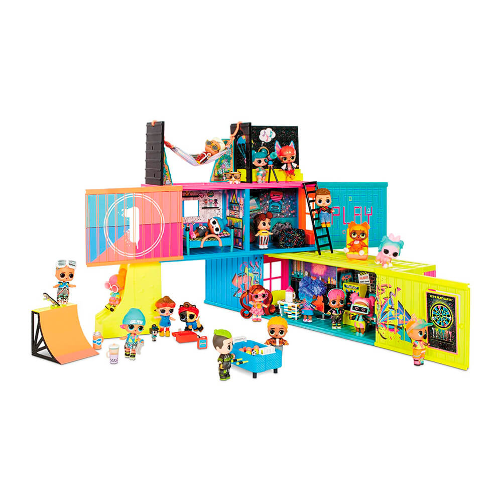 Игоровой набор L.O.L. Surprise Clubhouse - Клубный дом