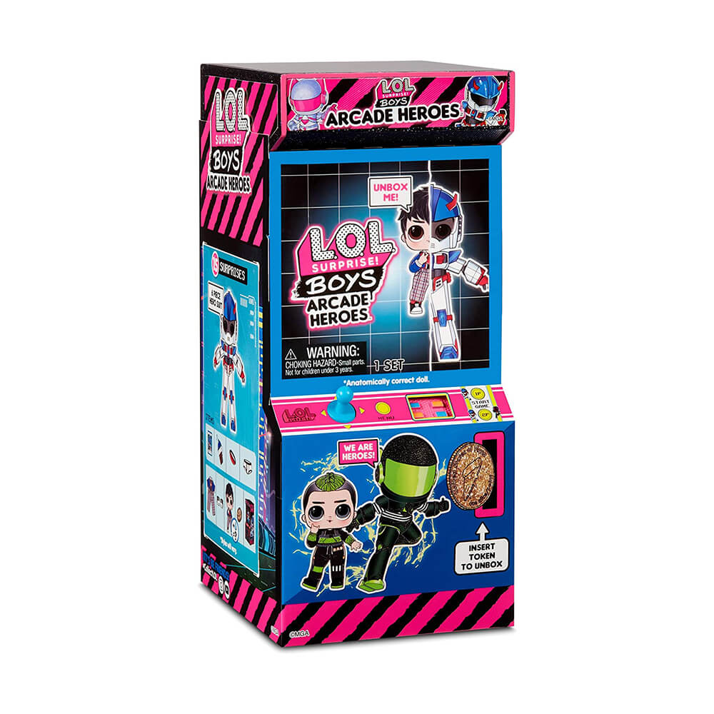 Кукла LOL Surprise BOYS ARCADE HEROES - Куклы ЛОЛ Мальчики Аркадные Герои - 2